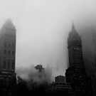 Smoke and Fog: NYC Skyline by Dave Bledsoe