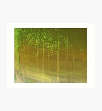 Spectral Sentries Art Print