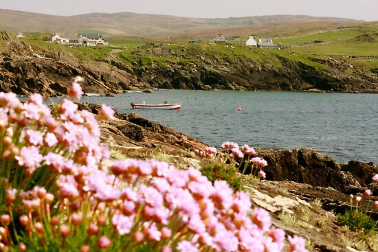Malinmore Pier, Glencolmcille, Co. Donegal  by heatherbyrne