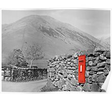 The Antique Post Box Poster