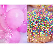 Party Diptych Photographic Print