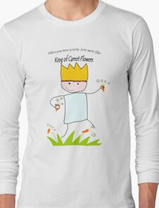 King of Carrot Flowers by Neutral Milk Hotel Long Sleeve T-Shirt