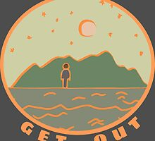 Get Out  by HeloiseGauvin