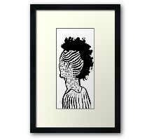 Braided Up Framed Print