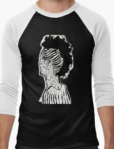 Braided Up Men's Baseball ¾ T-Shirt