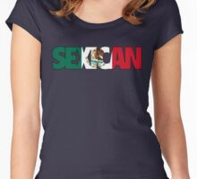 SEXICAN Women's Fitted Scoop T-Shirt