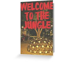 Welcome to the Jungle Greeting Card