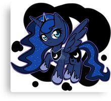 Pony Pins: Luna Canvas Print