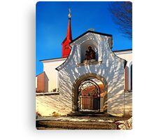 The cemetary church of Schlägl IV | architectural photography Canvas Print