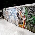 Graffiti Snow by Charity Thompson
