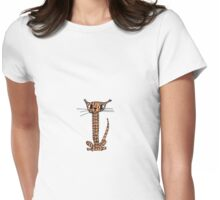 Mr Stripey Womens Fitted T-Shirt