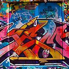 Melbourne Graffiti by Tony Walton