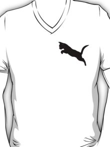 Kitten Jumps Over the Lazy Puma II - Small Version T-Shirt