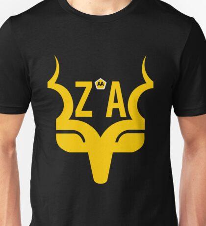 Sanparks + ZA Logo Gold Unisex T-Shirt
