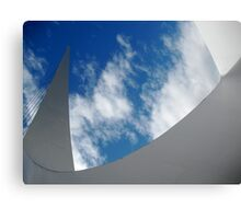 Sky Sculpture Canvas Print