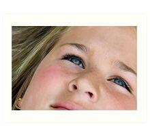 Beauty Eyes Art Print