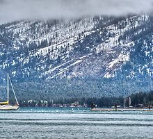 Landscape Lake Tahoe by Diego  Re