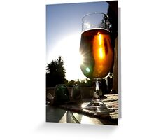 Brewski Greeting Card
