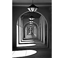 Arches & Shadows Photographic Print