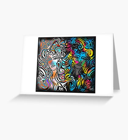 """Medusa's Mirror"" Greeting Card"