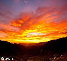 Sunset at the Saddle by Craig Brown