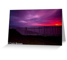 Sunrise at Cape Spear Greeting Card