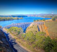 Myponga Dam - Fleurieu Peninsula, South Australia by Mark Richards