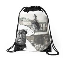 Grandmaster Flash Drawstring Bag