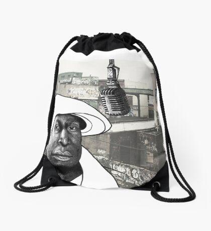 Grandmaster Flash Drawstring Bag