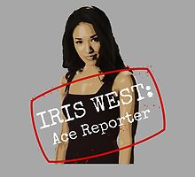 Iris West - Ace Reporter - Central City Picture News by FangirlFuel