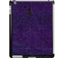 USGS Topo Map Oregon Willow Lake 282108 1988 24000 Inverted iPad Case/Skin