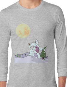 Abdominal Snoman Long Sleeve T-Shirt