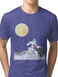 Abdominal Snoman Tri-blend T-Shirt
