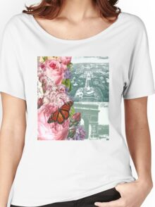 Paris in the springtime Women's Relaxed Fit T-Shirt