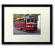 Lovely Old Tram Framed Print