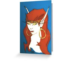 The Elf Queen Greeting Card