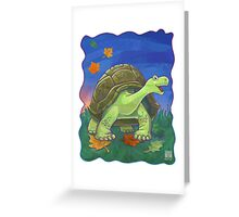Animal Parade Tortoise Greeting Card