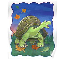 Animal Parade Tortoise Poster