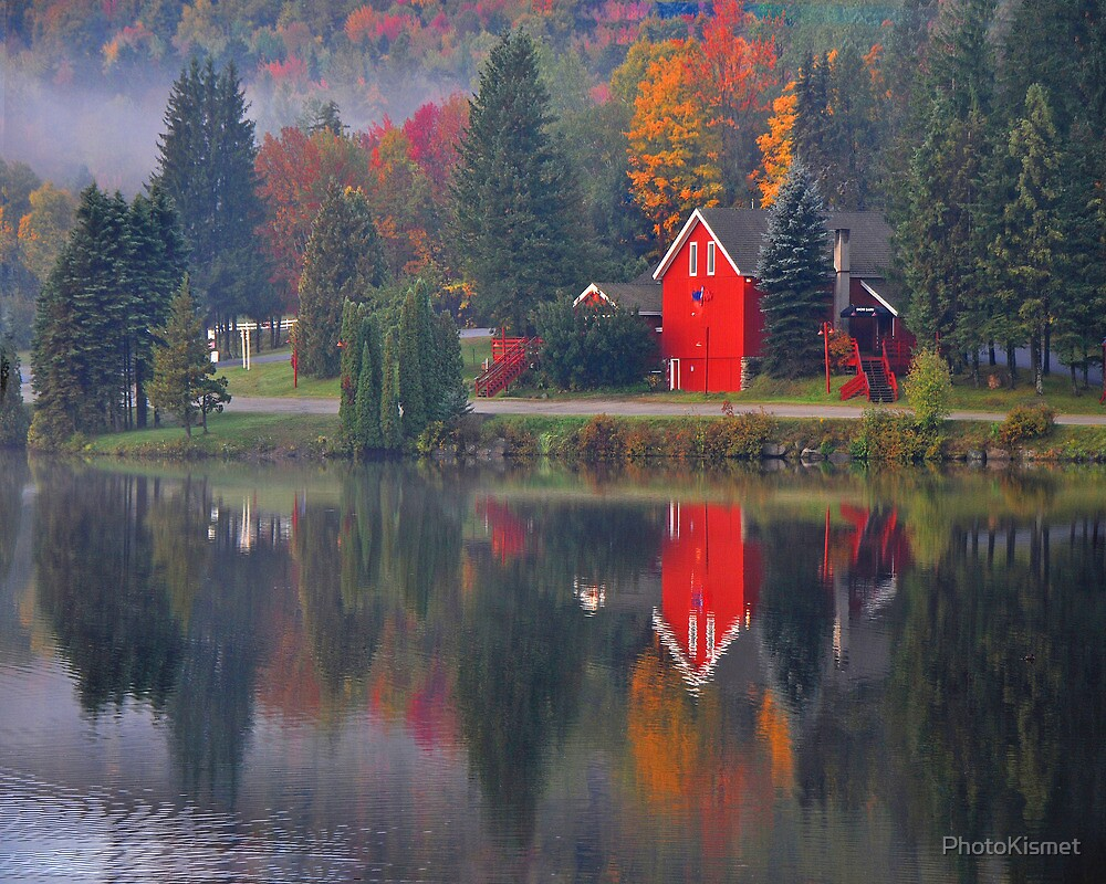 Snow Barn - Mount Snow, Vermont by PhotoKismet