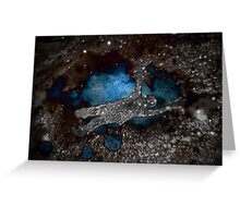 darkness swallows Greeting Card