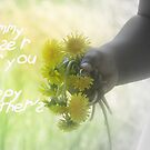 Dandelions for Mom by RockyWalley