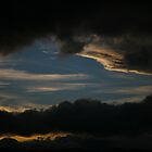 sunset layer. tasmania, australia by tim buckley   bodhiimages