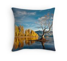 Wanaka Tree Throw Pillow