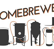 Homebrewer - Grain to Glass by baridesign