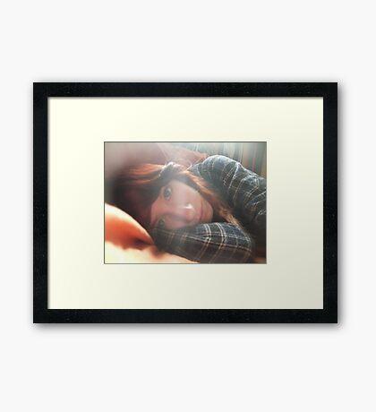Raw. Framed Print