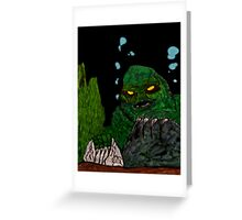 The Creature Rises! Greeting Card