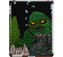The Creature Rises! iPad Case/Skin