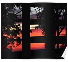 "'Segmented Dawn"" Poster"