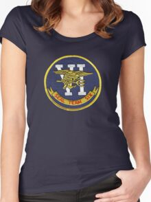 Seal Team Six Women's Fitted Scoop T-Shirt