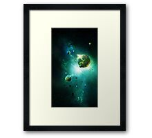 The Voyage Home Framed Print